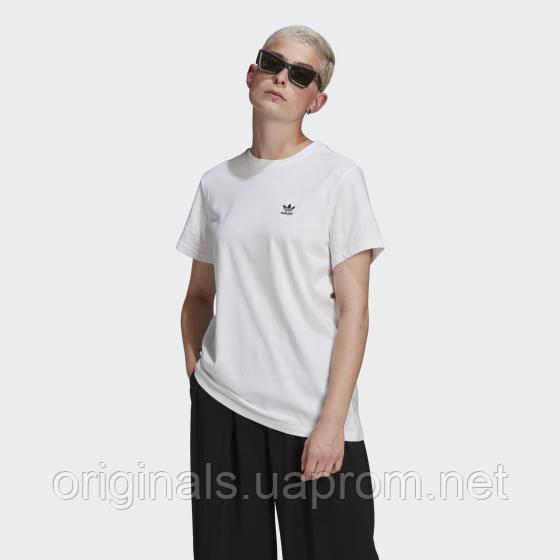 Жіноча вільна футболка adidas Originals Loungewear Adicolor Classics Loose Tee GN2924 2021 D