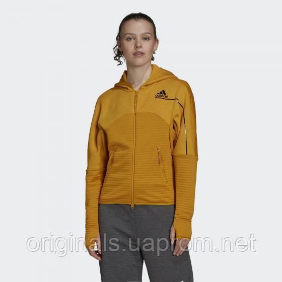 Толстовка жіноча Adidas N. Z. E. COLD.RDY Athletics FT6774 2021 D