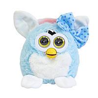 Интерактивная сова Ферби на прізвисько Піксі   Синя інтерактивна іграшка Ферби Furby говорящая сова