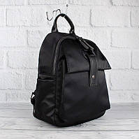 Рюкзак городской текстильный черный 8064