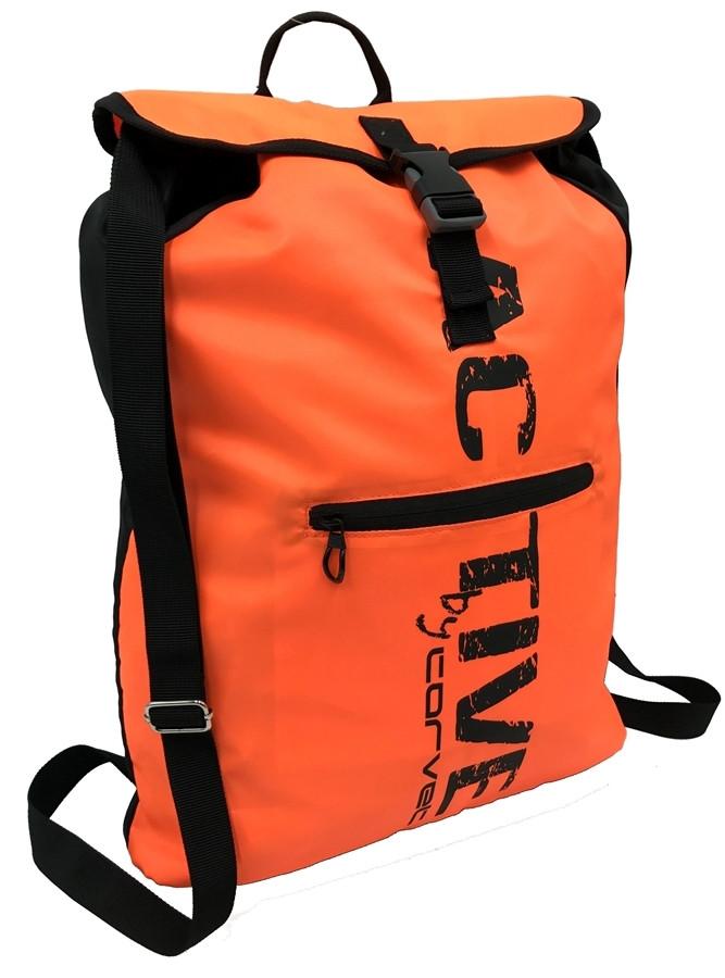 Спортивний рюкзак-мішок 13L Corvet, BP2126-98 помаранчевий
