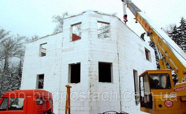 Планування будівництва при негативних температурах