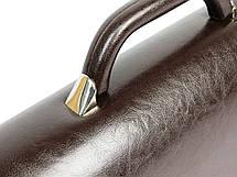 Большой мужской портфель из кожзаменителя Jurom 0-36-112, фото 3