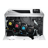 Кольоровий лазерний принтер HP LaserJet Enterprise M553dn б.у., фото 3