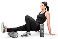 Ролер масажер для кросфита і йоги Hop-Sport HS-001YG Сірий, фото 4