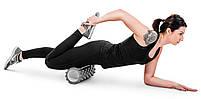 Ролер масажер для кросфита і йоги Hop-Sport HS-001YG Сірий, фото 5