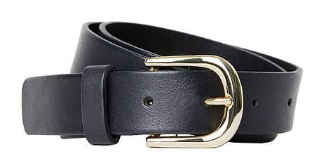 Кожаный женский ремень H&M черный, фото 2