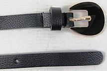 Женский узкий ремень из эко кожи H&M черный 1,5см, фото 2