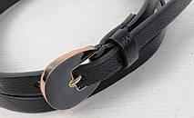 Женский узкий ремень из эко кожи H&M черный 1,5см, фото 3