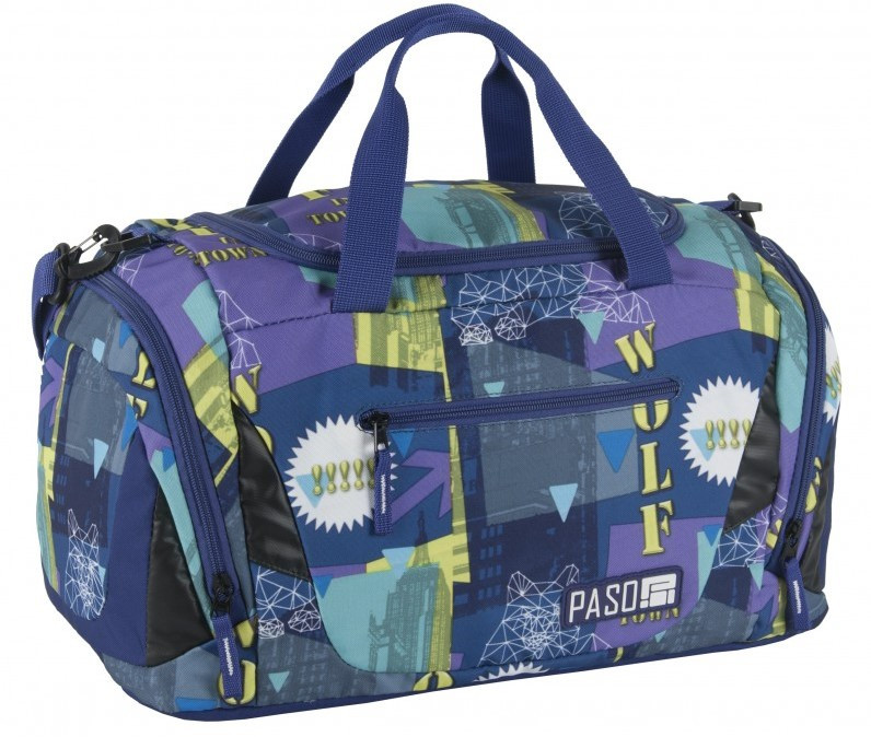 Спортивная сумка Paso 22L, 17-019UE