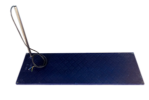 Коврик для обогрева поросят с трубкой для защиты кабеля питания Kronos Top 120х40х2 см (ukrf_6-98)