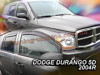 Дефлекторы окон (ветровики) HEKO (вставные) для DODGE DURANGO 04-08