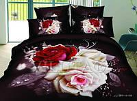Комплекты  постельного белья евро  220см*240см, ткань сатин-люкс фотопринт