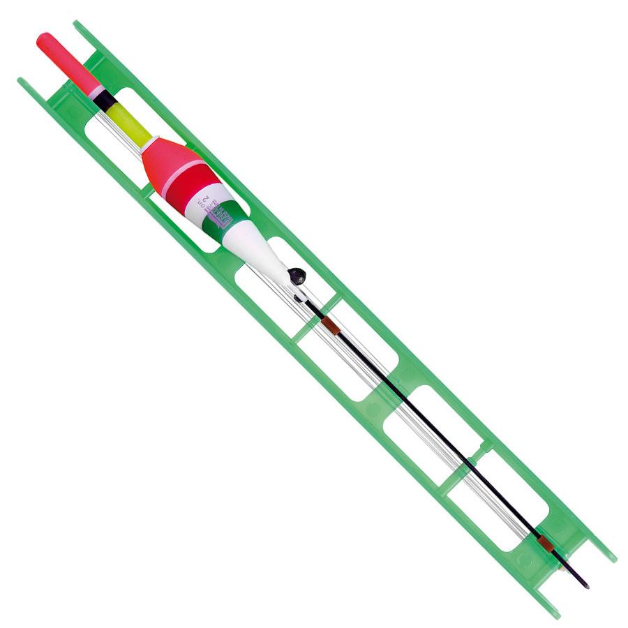 Оснащення поплавкові Lineaeffe Fluorocarbon VERDE (2.5 гр осн леска0.20 пов.0.18 гачок№10)