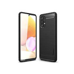 Original Silicon Case Samsung A72-2021/A725 Black iPaky
