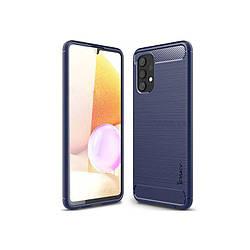 Original Silicon Case Samsung A72-2021/A725 Dark Blue iPaky