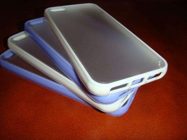 Чохол з задньою кришкою 5,5 S iphone фіолетовий