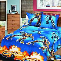 """Подростковое постельное белье Kidsdream """"Войн робот"""" полуторного размера."""