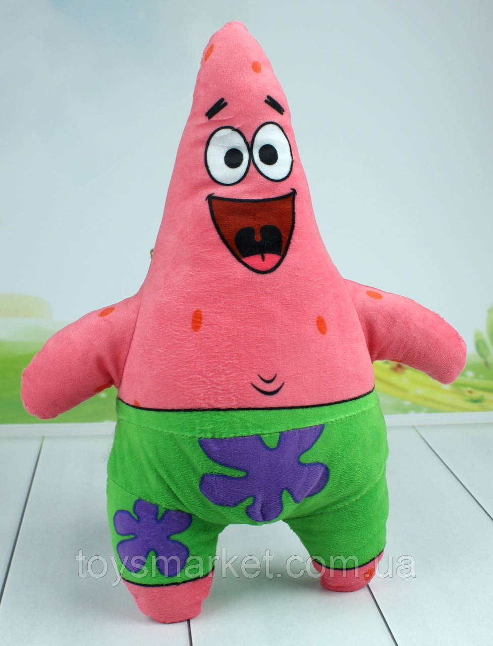 "Мягкая игрушка Патрик Стар, Патрик ""Губка Боб"", ""Губка Боб Квадратные Штаны."