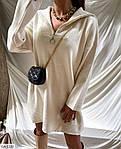 Женское короткое осеннее платье с ангоры со змейкой, 42-44, 44-46, оливка, черный, молоко, кэмел, фото 2