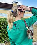 Жіночий спортивний костюм на флісі «Сердечко», 42-44, 44-46, лаванда, малина, зелений, чорний, молоко, фото 4
