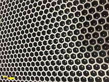 Лист EVA для автоковриков 1,4*2.55*0,1 Сота Чёрный, фото 2