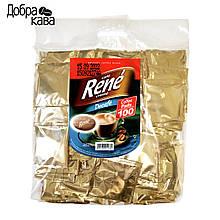 Rene Decafe 100 шт кофе в чалдах для Philips Senseo без кофеина