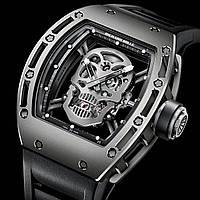 Часы Richard Mille RM 052 Skull Silver! мужские