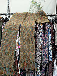Набір шарф і шапку (60% вовна і мохер)