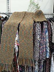 Набор шарф и шапка (60% шерсть и мохер)