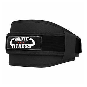 Пояс AOLIKES HY-7983 Black размер XL для тяжелой атлетики атлетический