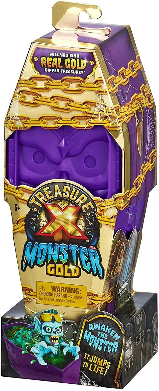 """Набор Сокровища монстров """"Гроб с монстром"""" 13 уровней Treasure X Monster Gold  Оригинал из США"""