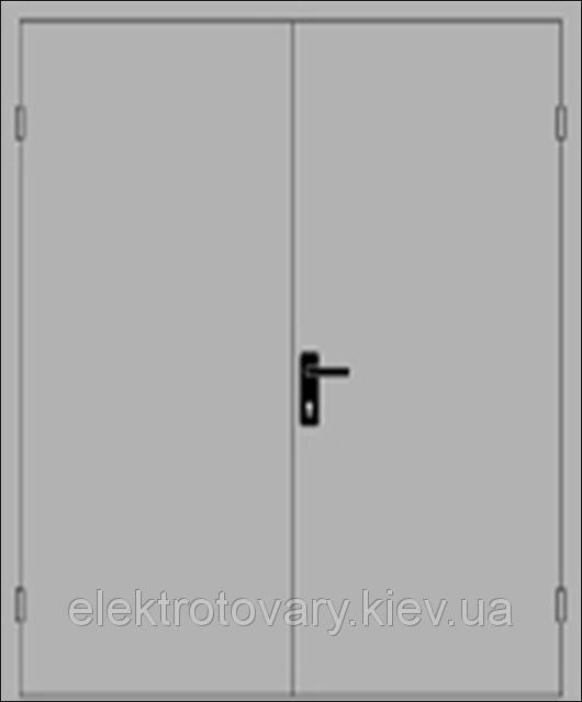 Двери технические противопожарные EI 60 ДМП 2100х1400