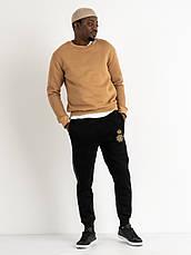 Спортивні штани утеплені на флісі великих розмірів LONGCOM, фото 3