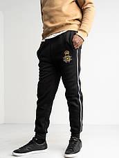 Спортивні штани утеплені на флісі великих розмірів LONGCOM, фото 2