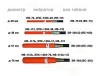 Вибронаконечник д–76 мм вибратора ИВ–116А, ЭПК–1300–76, ИВ–116А–1,6 — ЯЗКМ