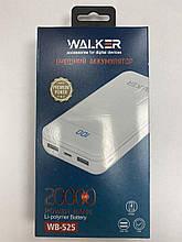 Power Bank walker wb-525 20000mAh+LCD 2USB/2.1A разьем type-c/micro black