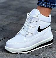 Жіночі зимові кросівки білі теплі (код 2121)