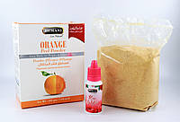 Натуральний порошок Апельсинной цедри маска-Пілінг для обличчя HEMANI + Рожева вода