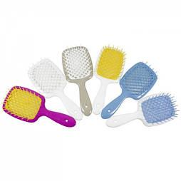 Расческа для наращенных волос Janeke Superbrush и Superbrush Mini