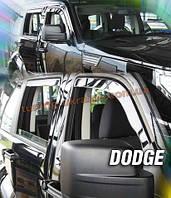 Дефлекторы окон (ветровики) HEKO (вставные) для Dodge Journey 08+