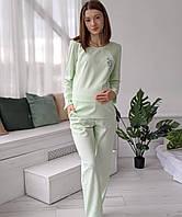 Свободная пижама для беременных и кормящих 3202, фото 1