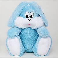 Мягкая игрушка сидячий зайчик, размер - 55 см. Популярная игрушка. Красивая, милая, чудо-игрушка. Код: КЕ452-1