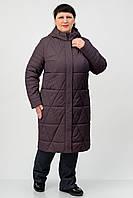 Демисезонное пальто Atrsun Таира кофе 48