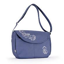 Универсальная сумка длядетскойколяскиBaby Breeze 0355 с водоотталкивающей пропиткой серо-голубая