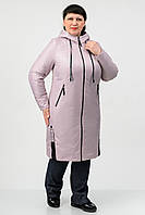Удлиненная демисезонная куртка Atrsun Искра роза 54