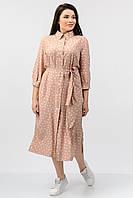 Платье Artsun Лилия темный персик 50