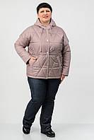 Куртка Atrsun Эрика темный беж 54