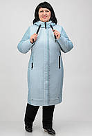 Подовжена демісезонна куртка Atrsun Вельмира полин 60