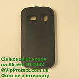 Alcatel 4033D, черный_силиконовый чехол, фото 2